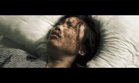 Actress Michelle Yim portrays a victim of the bombing.