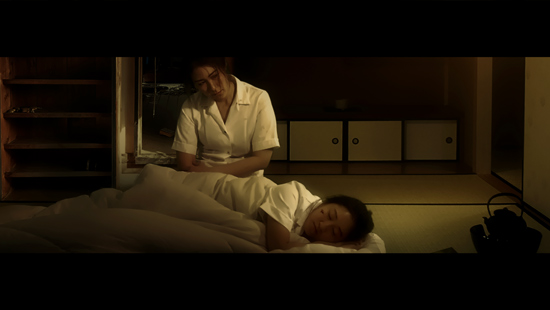 Matron Hasimoto (Kaya Yuzuki) and Nurse Hashimoto (Leila Wong) coming to terms with the horrors of the A-bomb