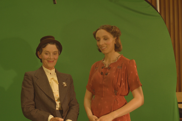Susan Jameson and Charissa Shearer as Helen Keller and Judith Tyler