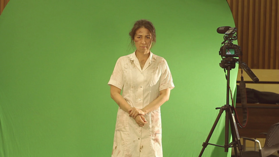 Actress Kaya Yuzuki as Matron Hisamatsu